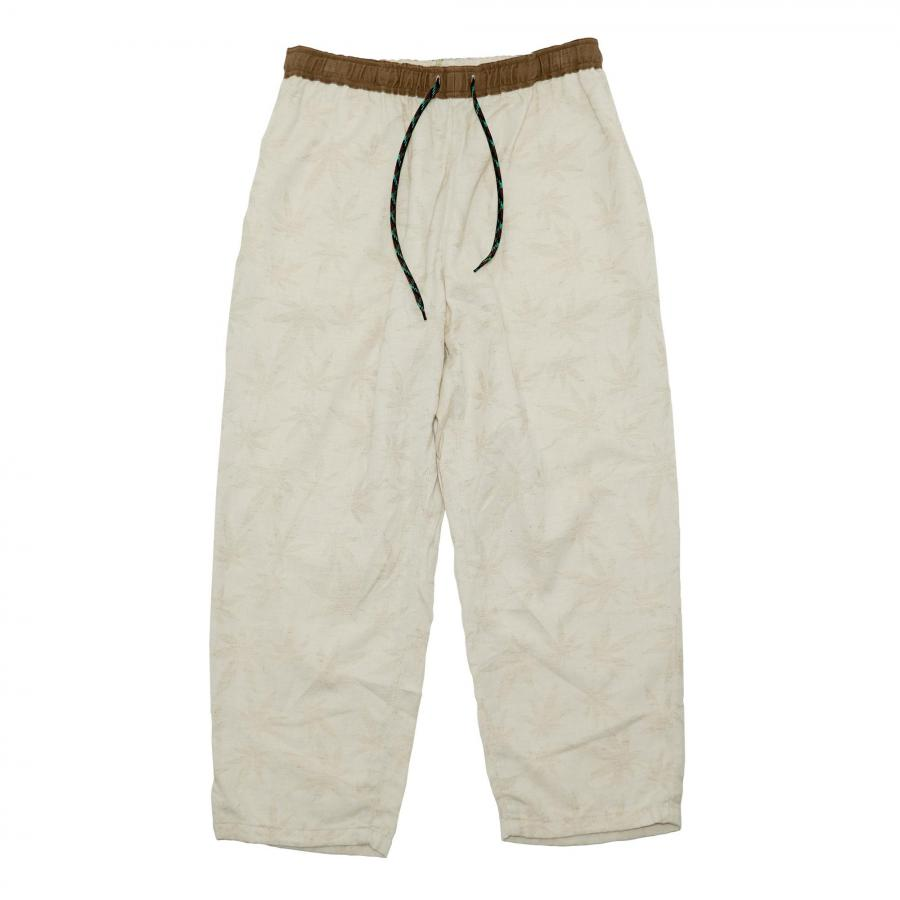 NEW DAY PANTS/HEMP LEAF JACQUARD