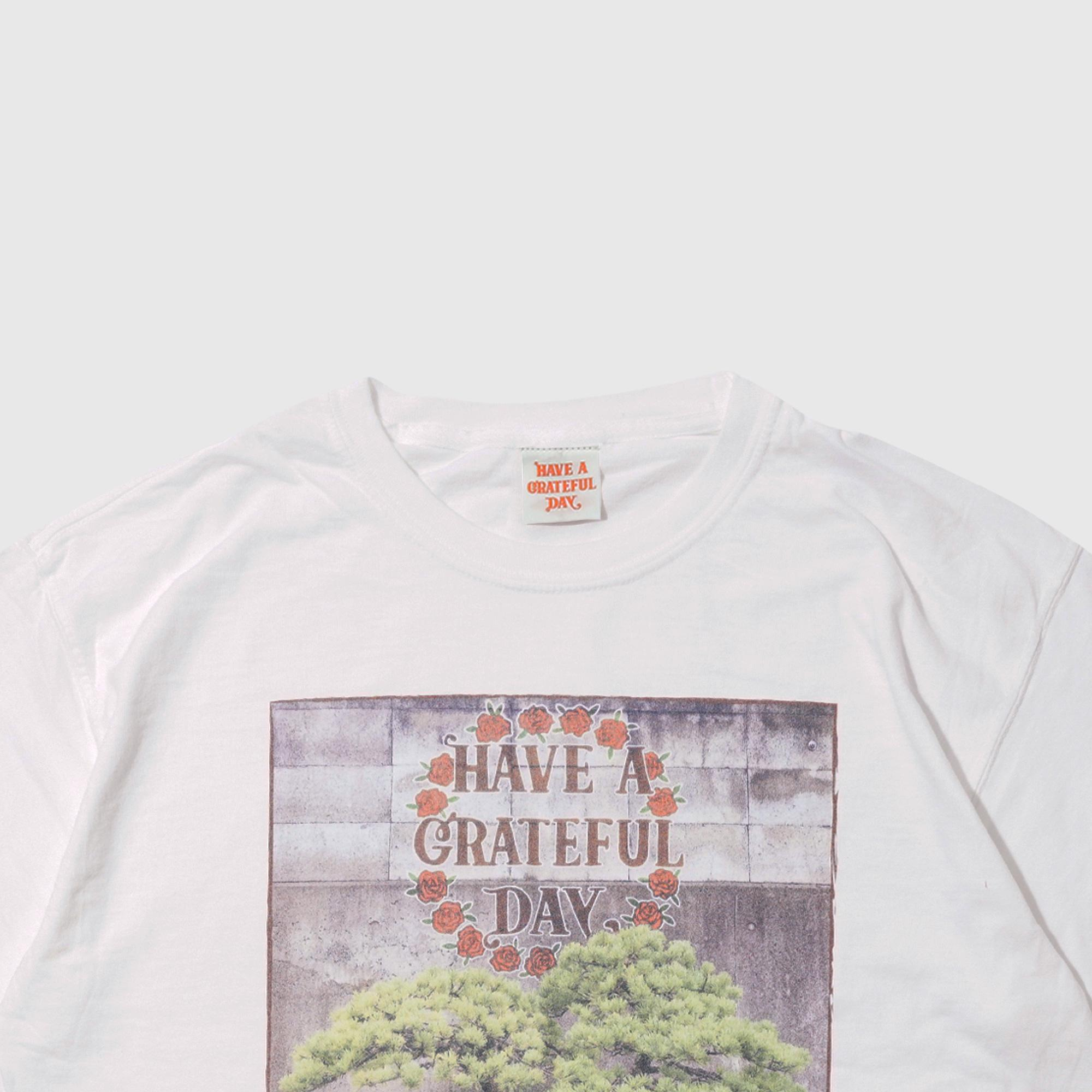 YH×GRATEFUL DAY T-SHIRT -GRAFFITI