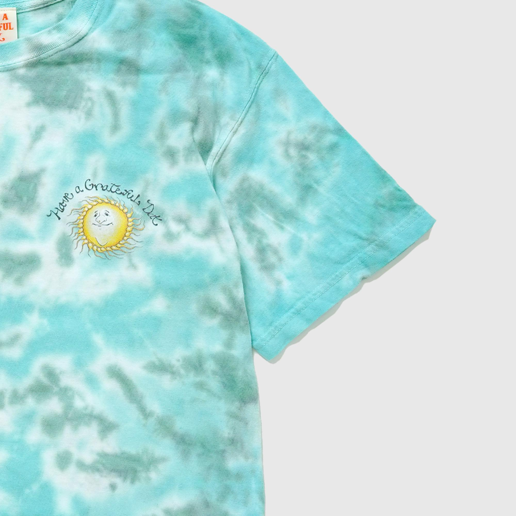 GRATEFUL DAY TIEDYE T-SHIRTS -SUNSHINE