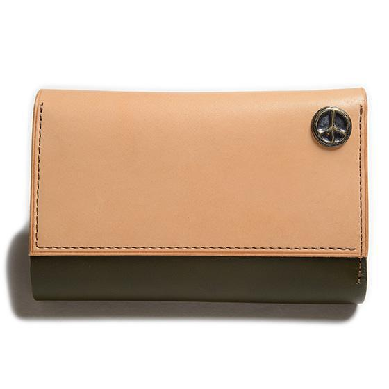 """""""TIME IS MONEY""""MIDDLE WALLET×KUBIKI LEATHER"""