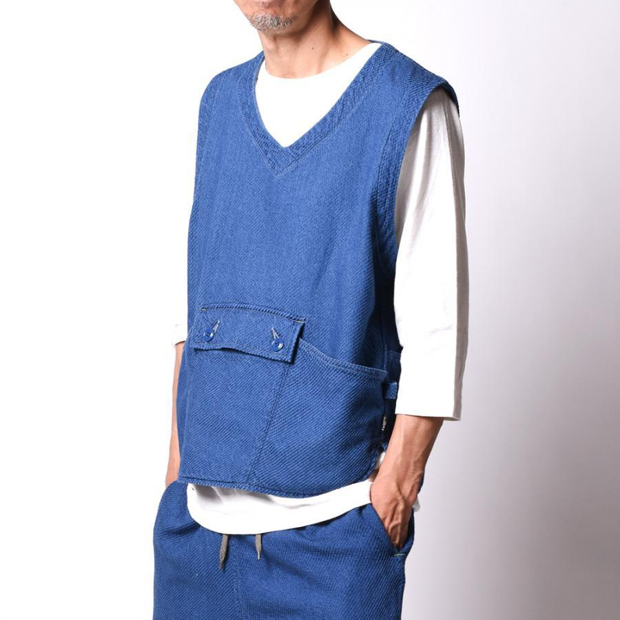 ALL IN VEST /FRANCE TWILL