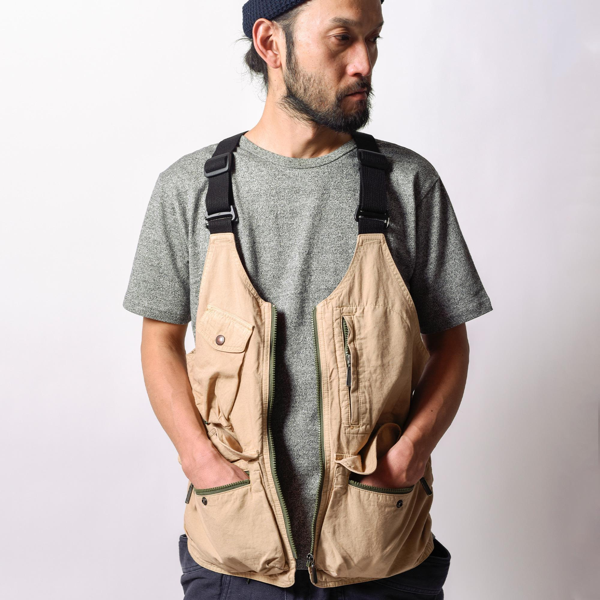 HEMP UTILITY VEST/H/C  WEATHER