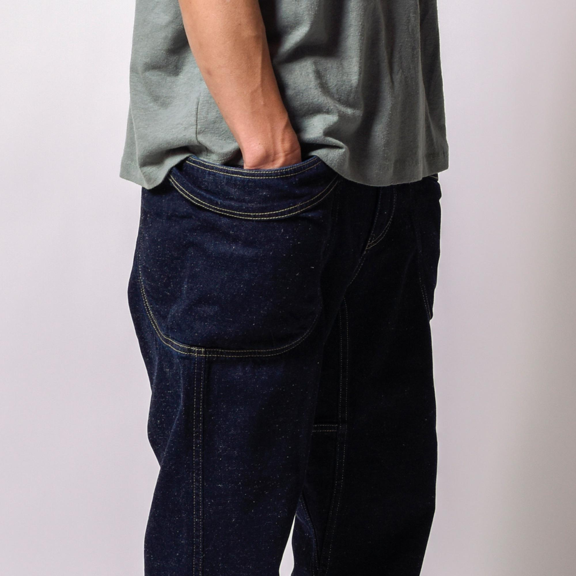 VENDOR ANKLE CUT PANTS/12ozH/C DENIM(ONE WASH)