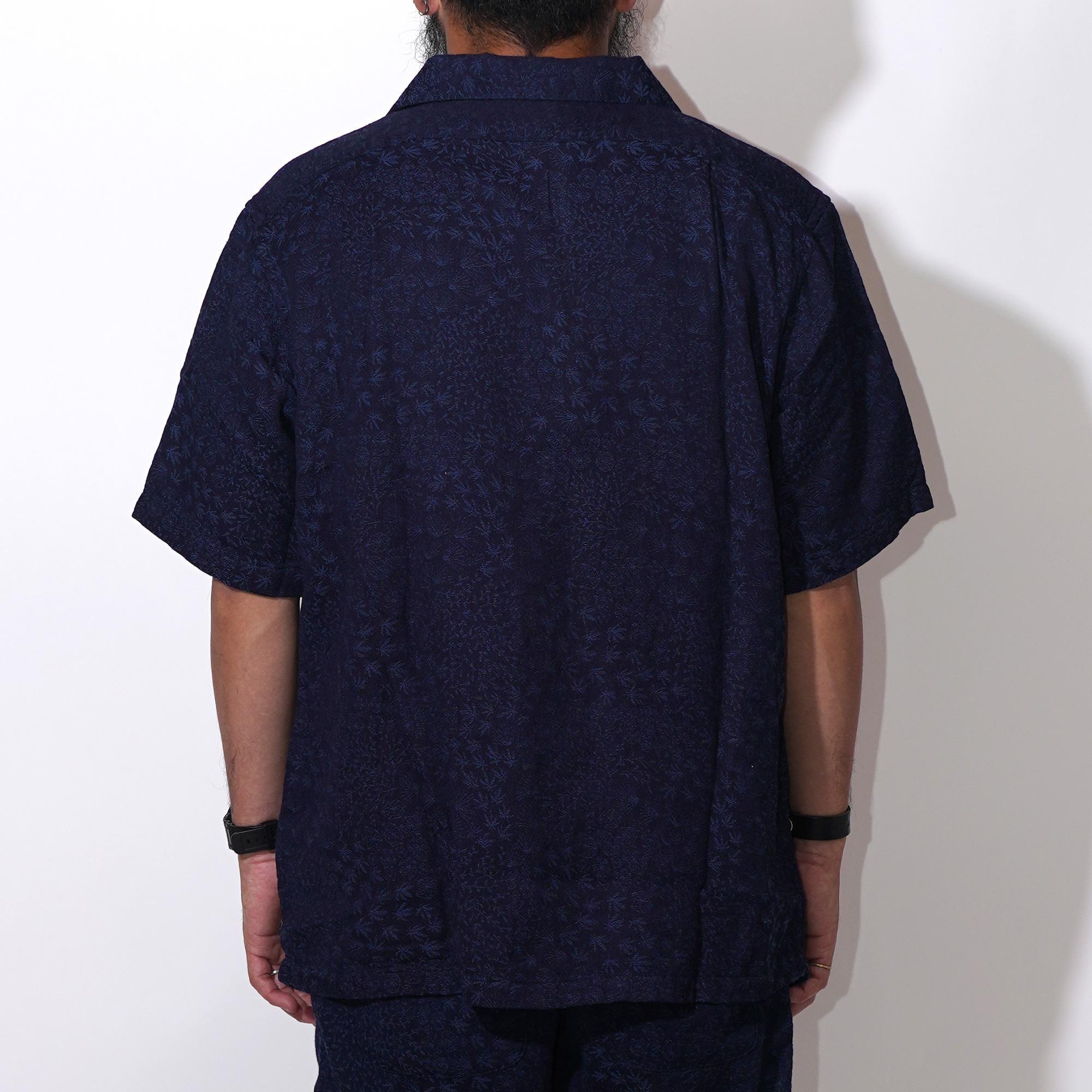 OPEN MIND SHIRTS/MINIMAL LEAF JACQUARD