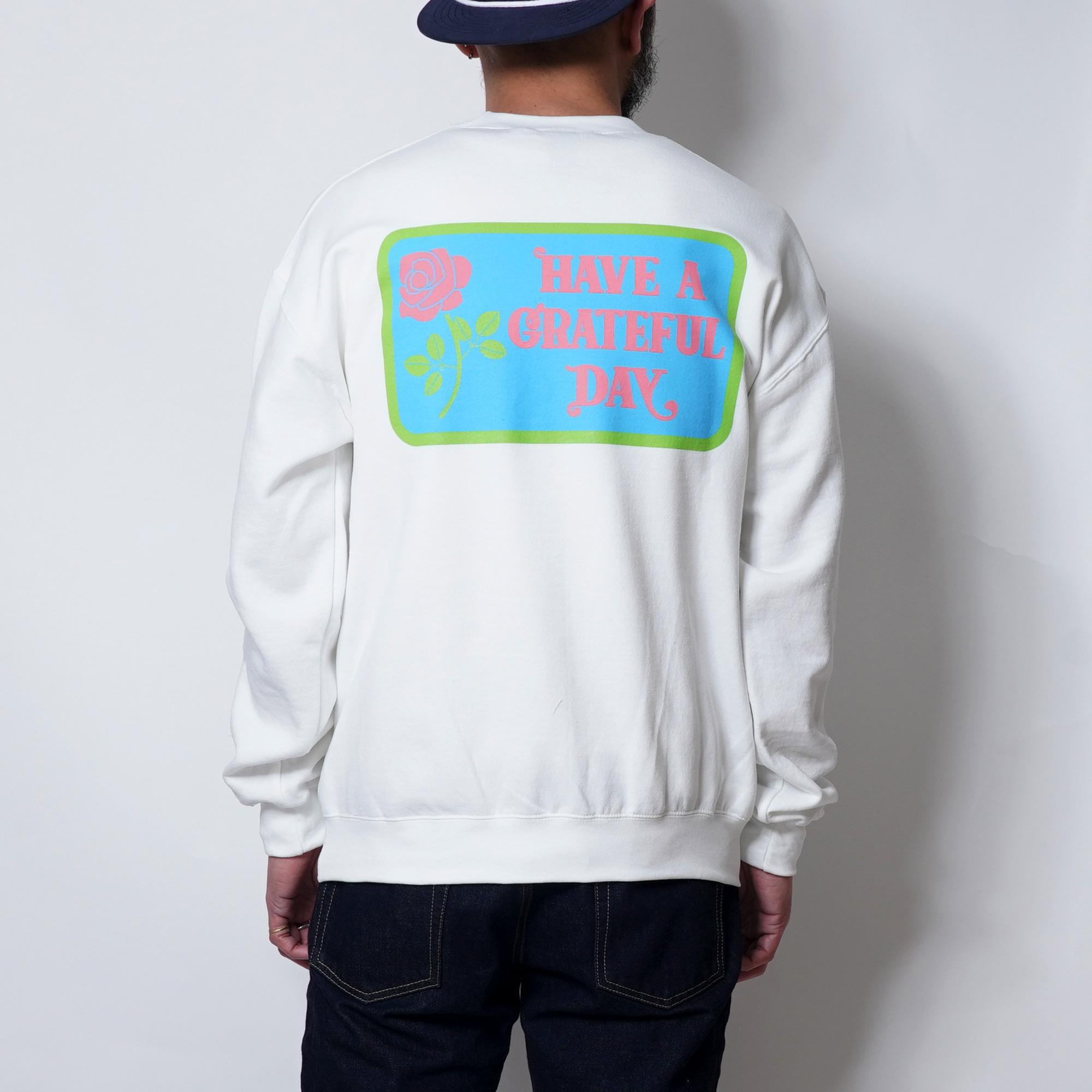 CREW NECK SWEAT【BOX LOGO】