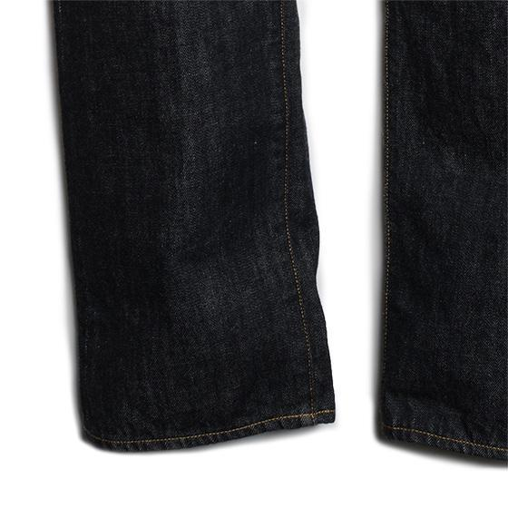 /14oz BLACK DENIM(ONE WASH)