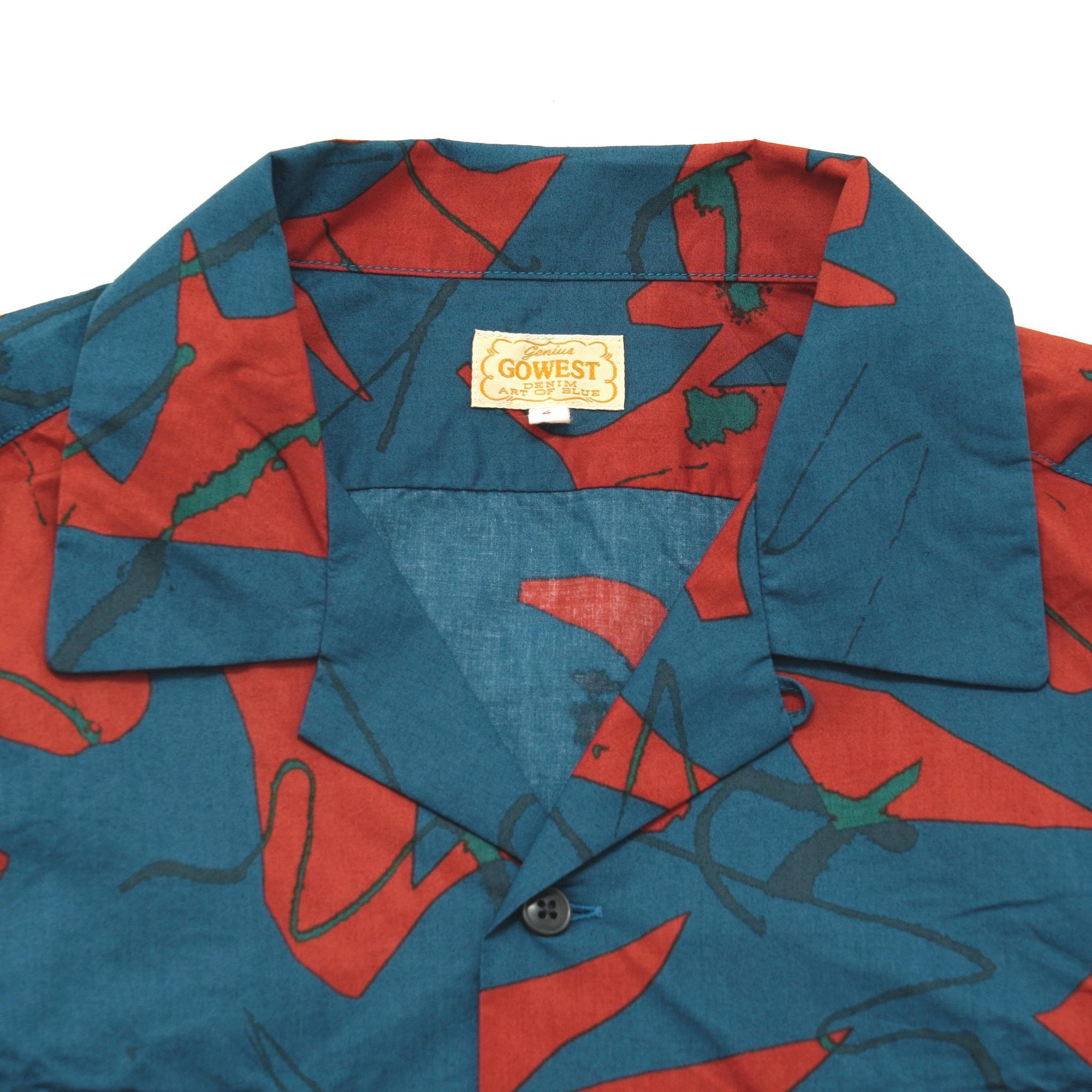 OUT OF BORDER S/SL SHIRTS/TYPEWRITER CLOTH