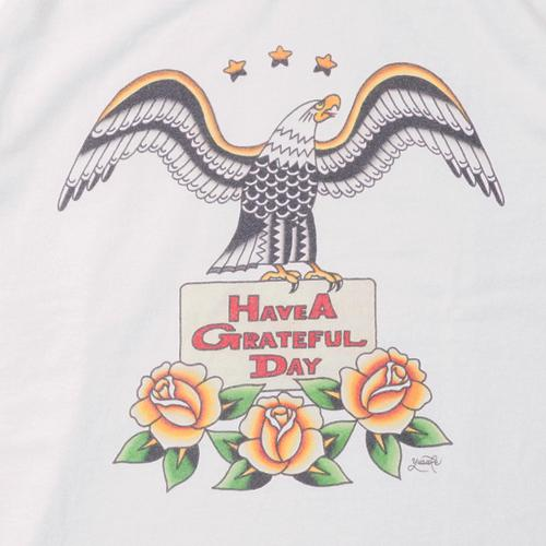 YH×GRATEFUL DAY T-SHIRT -EAGLE