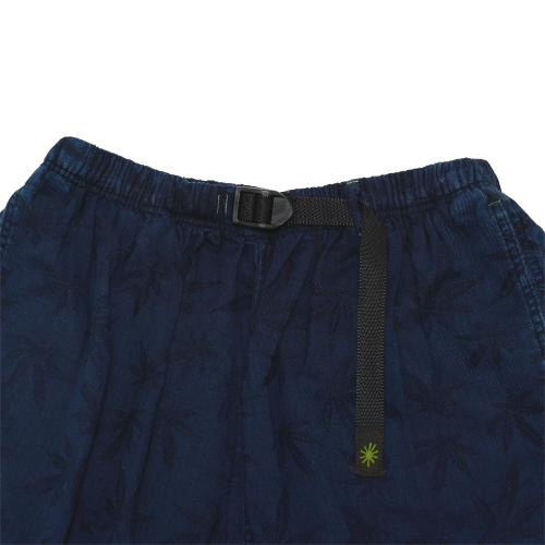 FARMER'S PANTS/HEMP LEAF JACQUARD
