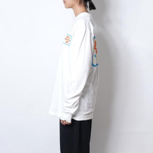 LONG SLEEVE T-SHIRT【BOX LOGO】
