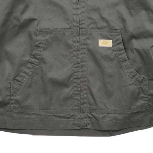 HANG OUT JACKET/BURBERRY CLOTH - PROBAN® FINISHED