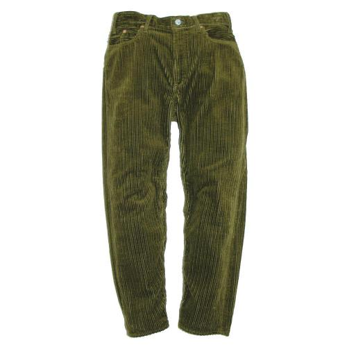 LOOSE TAPERED PANTS/High Low Air Corduroy