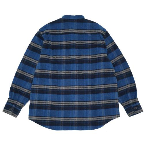 BAND ON THE SHIRTS/Fleece Lined Heavy Twill Check